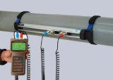 超音波流量計を取付ける手持ち型ブラケット
