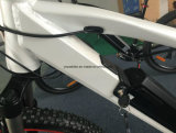 Potência mais a bicicleta elétrica da montanha com bateria do Lítio-Íon - branco de Yiso