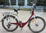 Vélo électrique de ville américaine de modèle de qualité de supermarché