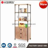 Fácil ensamblar los muebles Acero-De madera modernos con la cabina de madera