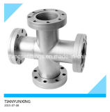 ANSI Seamless Stainless Steel Sanitary Fittings Tee Cross