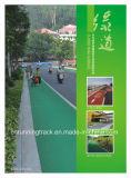 高性能カラー屋内および屋外の表面のための水晶道のフロアーリング