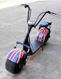 1000W Harleyの脂肪質のタイヤ山の電気スクーター