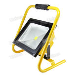High Power 50W Rechargeable Outdoor LED Flood Light