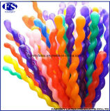 100PCS/Bag Ballons van het Latex van de Decoratie van de Partij van de Verjaardag van de Jonge geitjes van het huwelijk de Spiraalvormige