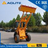 中国の工場販売のための小型小さいローダー1.2tonの車輪のローダー