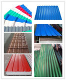 Colore Coated Galvanized Corrugated Steel Sheet per Roofing