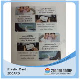 Offestの印刷のバーコードか磁気帯または金属VIPのカード