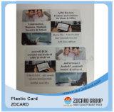 Tarjeta sin contacto de la proximidad RFID con la mini etiqueta del orificio imprimible