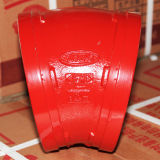 Ce/FM/UL Listed Red Pipe Fittings 250psi Grooved Reducer