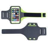 Telefono 7 più il bracciale riflettente più di 6 LED, fascia di braccio di allenamento di Portholic per i supporti di Key&Cards (6.0-Inch) per funzionare, facendo un'escursione, Biking, camminando, pareggiando
