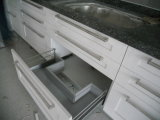 Грецкий орех Solid Wood Kitchen Furnitures с Granite Countertop Kc-073