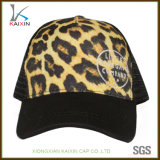 Custom Leopard Print Broderie 5 Panneaux de mousse