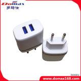 Carregador do curso do plugue de parede do USB dos acessórios 2 do telefone móvel micro