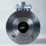 Vávula de bola de flotador del bloqueo del bastidor de la precisión del acero inoxidable