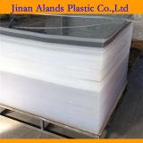Hoja plástica de acrílico translúcida material del lucite
