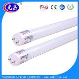 luz de cristal del tubo de 18W T8 LED para la decoración de interior