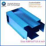 Espulsione di alluminio d'anodizzazione personalizzata di profilo con il trattamento di superficie