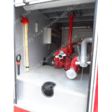 Sinotruk HOWO 4X2 266HPの消火活動のトラック