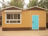 Casa modular para el domicilio familiar/la casa viva prefabricada