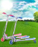 3 Rad-Handbremsen-Kind-Stoß-Roller/Minimusik-Roller für Kind