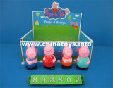 Обмотайте вверх игрушку новизны куклы миньонов, пластичную игрушку (803807)