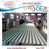 Linea di produzione del piatto dell'onda del PVC con alta efficienza