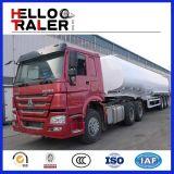 세 배 차축 40000L 연료 탱크 트럭 트레일러