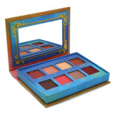 A geração a mais nova do estilo paleta cosmética da sombra de olho da a sombra da composição de 8 cores