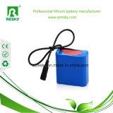 2s1p 7.4V 18650 de Batterij van het Lithium 2000mAh voor de Camera van kabeltelevisie