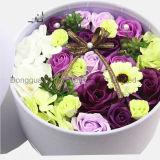 Concevoir les fleurs en fonction du client de Rose de velours empaquetant le cadre