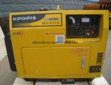 Torretta chiara mobile della costruzione del generatore della benzina o del diesel