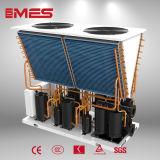 ヒートポンプの給湯装置高温55kwに水をまく空気
