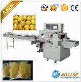 Neuester fördernder automatischer Mangofrucht-Kissen-Verpackungsmaschine-Preis