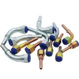 연결관 Npsm 유압 여성 콘에 의하여 주문을 받아서 만들어지는 유압 호스 이음쇠 60 Deg 21611