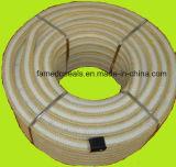De Gevlechte Verpakking van Kevlar van Aramid Vezel met Smeermiddel PTFE