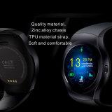 SIM 카드 구멍 (KS2)를 가진 스크린 Bluetooth 둥근 시계 이동 전화