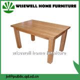 家具の木表を食事する純木