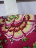 Caliente de la venta del algodón de la flor hermosa Bolsa