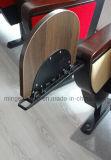 전람 회의실 단단한 나무 팔걸이를 가진 플라스틱 강당 의자