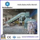 Hellobaler horizontale halbautomatische emballierenmaschine mit Förderanlage