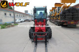Zl10f Agricultural Mini Front Multi Function Shovel Wheel Loader