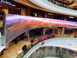 Pantalla LED de exterior para Banco Publicidad