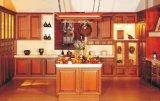 가정 가구 주황색 녹 단단한 나무 부엌 찬장