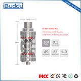 Atomiseur électronique de cigarette en verre 510 initiaux de Shenzhen Manufaturer