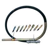 Tubo flessibile di gomma della molla d'acciaio per il tubo flessibile della mazza del vibratore per calcestruzzo
