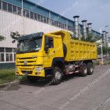 10 Wheeler 6X4 Capacidad 25 toneladas camión volquete