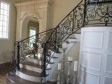耐久の錬鉄のバルコニー及び階段柵