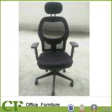 Manager-hoch rückseitiger Ineinander greifen-Stuhl-Büro-Stuhl mit Schemel