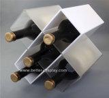 Estante de acrílico Btr-D2086 del almacenaje del vino
